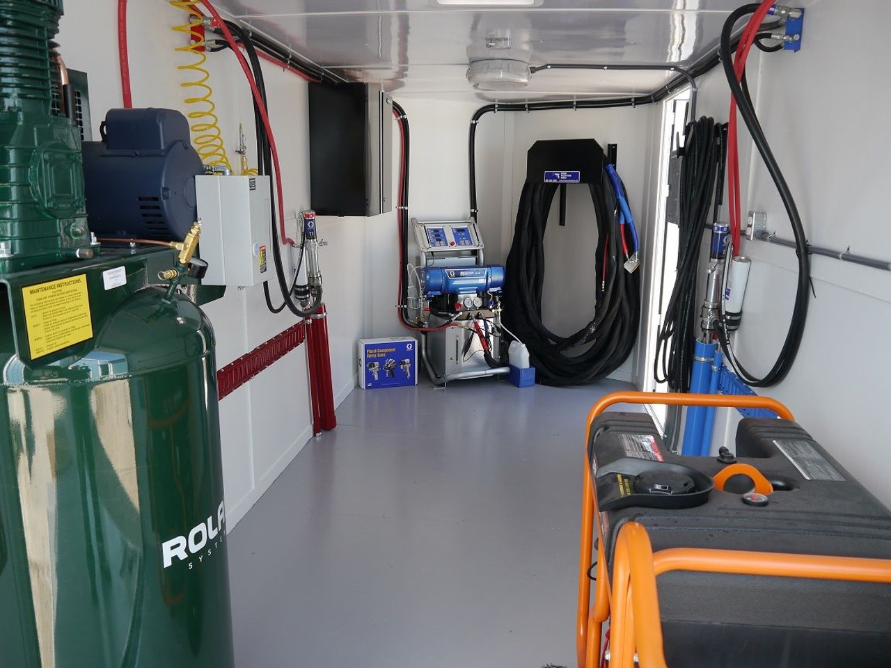 SPP 20' & 24' Mobile Spray Rig