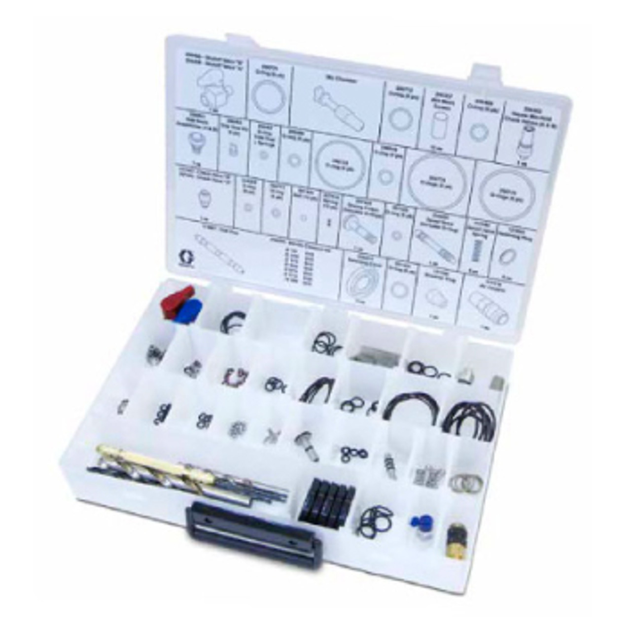 Fusion CS Spray Gun Parts Kit