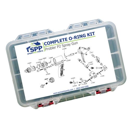 SPP Complete O-Ring Kit for Probler P2 Gun