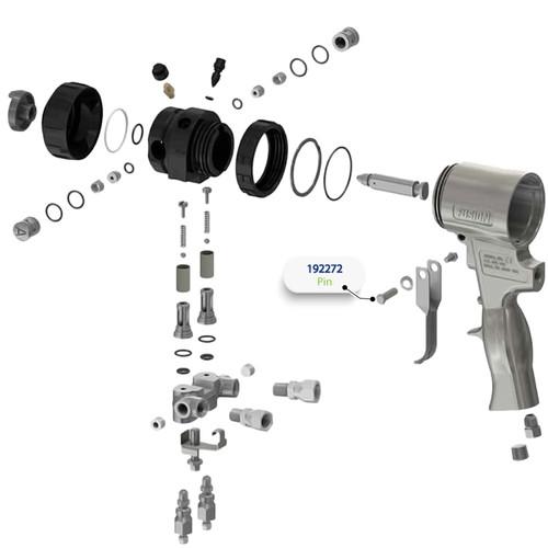 Pin for Graco Fusion Air Purge (AP) Spray Gun