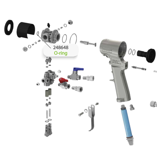 O-ring for Graco Fusion CS Spray Gun