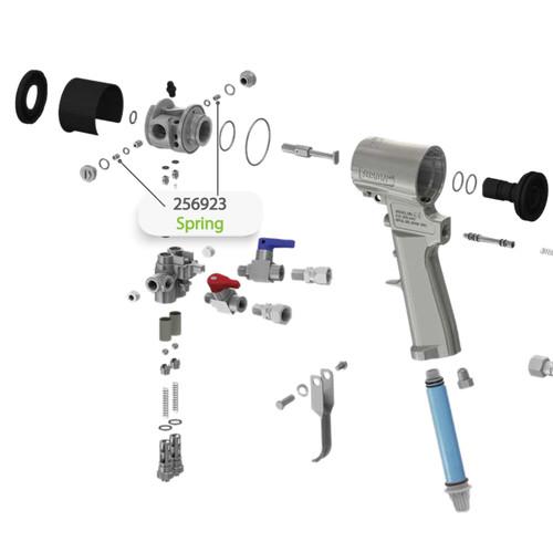 Spring for Graco Fusion CS Spray Gun