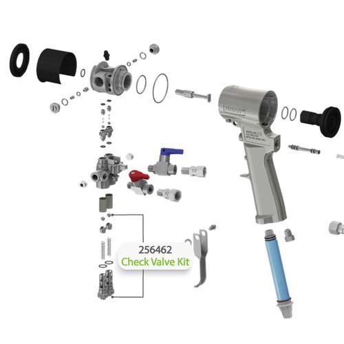 """A"" & ""B"" Side Check Valve Kit for Graco Fusion CS Spray Gun"
