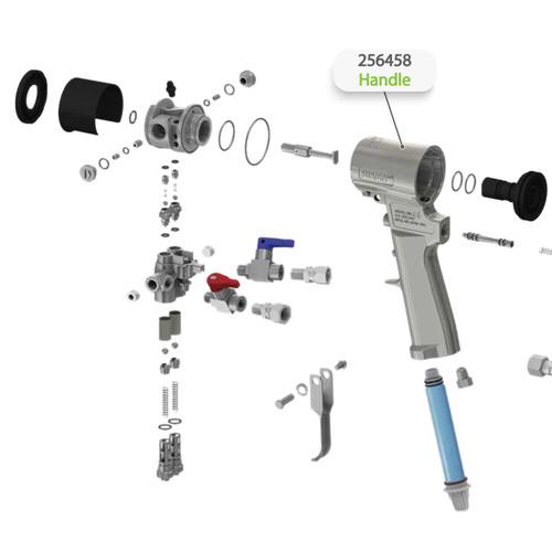 Handle for Graco Fusion CS Spray Gun