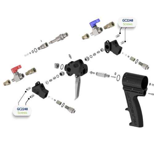 Screws for Graco Probler P2 Spray Gun (GC2248)