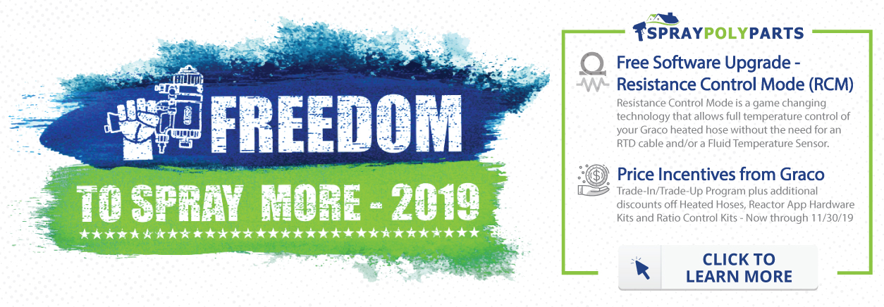 Graco Freedom To Spray More Promotion