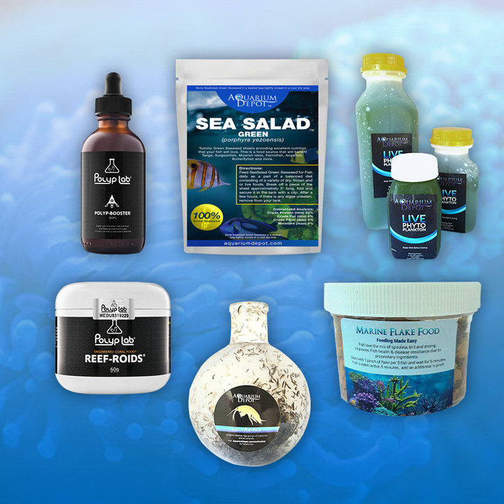 Complete Food Pack for Reef Aquarium - Small