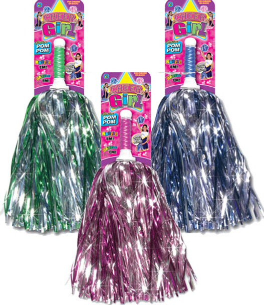 Cheerleader Pom Pom (12PK)  MSRP:$3.99 Now $1.75