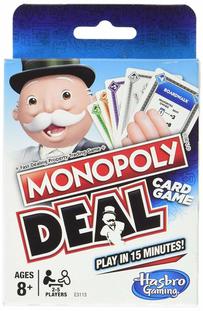 Hasbro Monopoly Deal (8PK)MSRP: $7.99 Now $3.90