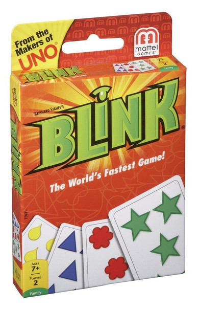 Mattel Games Blink – The World's Fastest Game!(8PK) MSRP $7.99 Now: $3.75