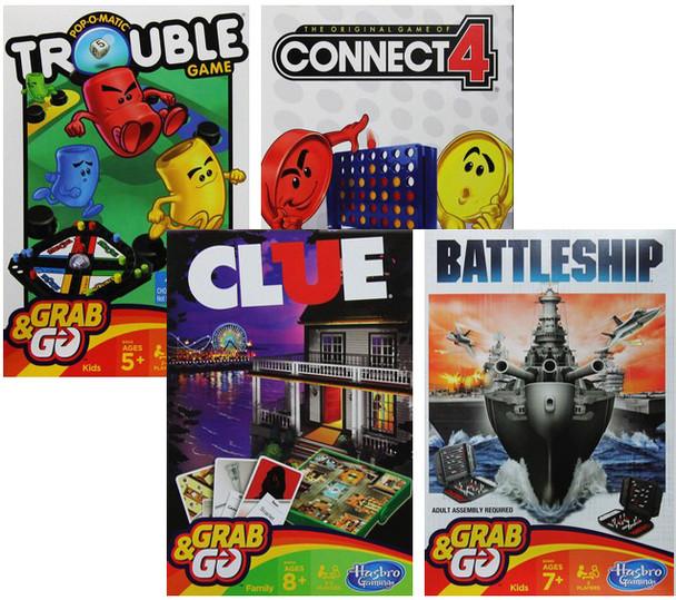 Hasbro Travel Grab & Go Games (6PK)MSRP: $9.99