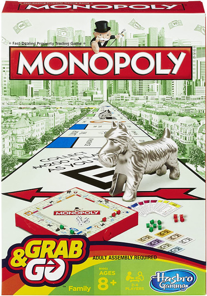 Hasbro Monopoly Grab And Go (6PK) MSRP $10.99