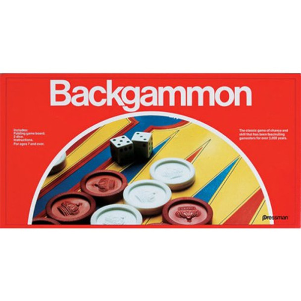 Backgammon Game with Folding Board (6PK)MSRP $9.99