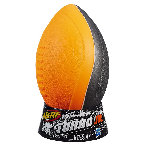 Hasbro Nerf Sport Turbo Jr Football (4PK) MSRP $10.99