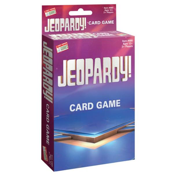 Jeopardy Card Game  (8PK)