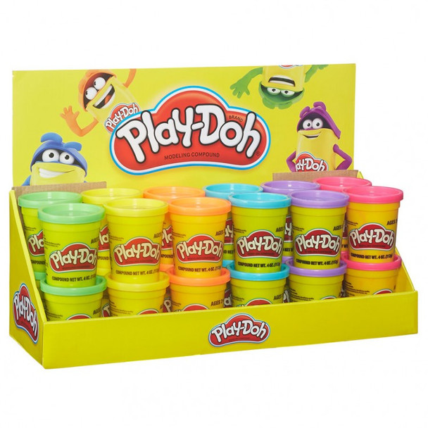 Play-Doh Assorted Colors (24PK) Now $0.89 each