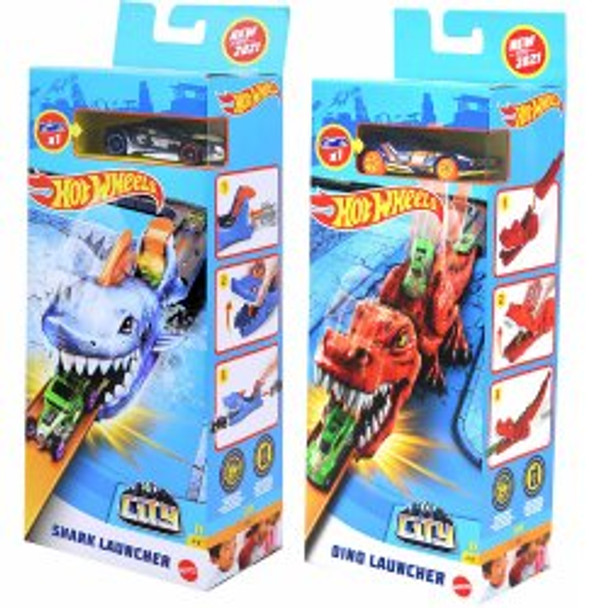 Hot Wheel Nemesis Launcher Asst (8PK)