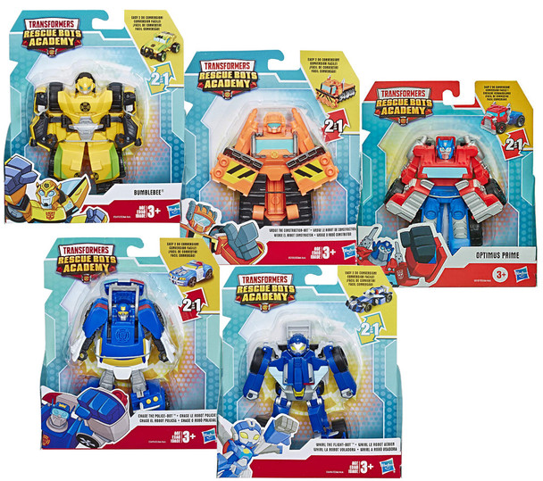 Transfomers Rescue Bots Academy Figures (6PK)