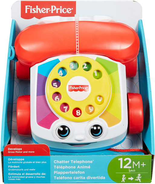 Fisher Price Chatter Phone (2PK)
