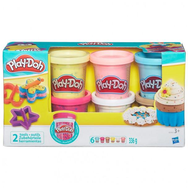 Play-Doh Confetti Compound (4PK)