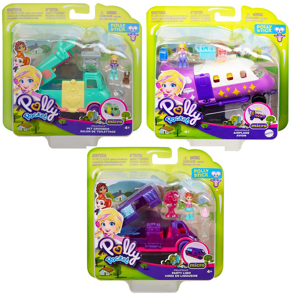 Polly Pocket Pollyville Playsets (6PK)