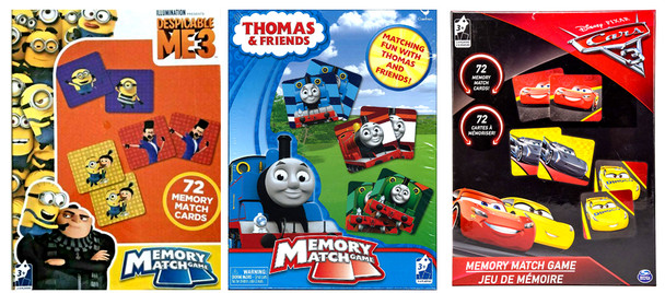 Memory Match Game for Kids (6PK)