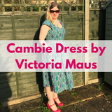 Geometric Cambie Dress by Victoria Maus
