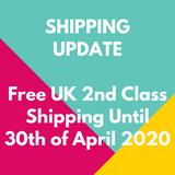 Coronavirus Update - Free UK Shipping