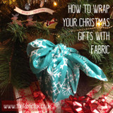 How To Wrap Your Christmas Gifts With Fabric