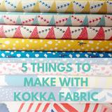 5 Creative Ways To Use Kokka's Japanese Cotton/Linen Canvas