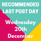 Recommended Last Day Of Posting In Time For Christmas!