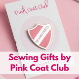 Enamel Pin Badges & Necklaces by Pink Coat Club Now In Stock!