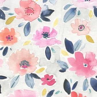 Boheme Bloom Multi from the Here Comes The Sun collection by Dear Stella. 100% lightweight cotton fabric