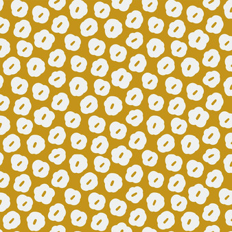 Blooming Blossom Yellow from the Garden Glory collection by PBS Fabrics. 100% Cotton Fabric