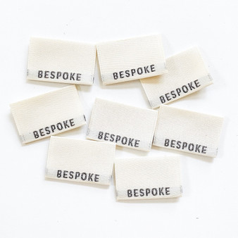 """Bespoke"" Sew-In Clothes Label (Pack of 8) By Kylie and The Machine"