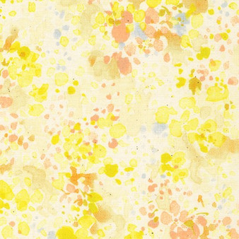Spring Shower Yellow from the Spring Shower collection by Sevenberry. 100% Cotton Fabric