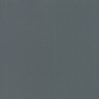 Graphite from the Bella Solids collection by Moda Fabrics. 100% Medium Weight Quilting Cotton.