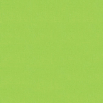 Wasabi from the Bella Solids collection by Moda Fabrics. 100% Medium Weight Quilting Cotton.