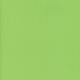 Lime from the Bella Solids collection by Moda Fabrics. 100% Medium Weight Quilting Cotton.