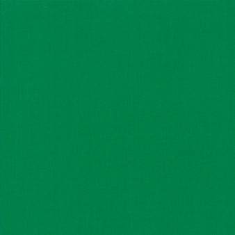 Emerald from the Bella Solids collection by Moda Fabrics. 100% Medium Weight Quilting Cotton.