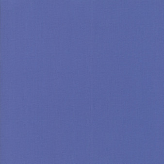 Periwinkle from the Bella Solids collection by Moda Fabrics. 100% Medium Weight Quilting Cotton.