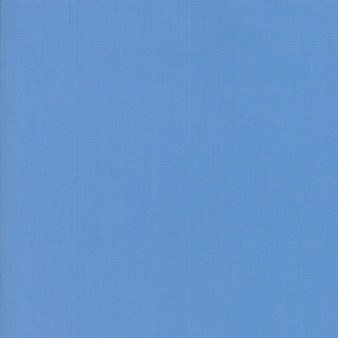 Blue from the Bella Solids collection by Moda Fabrics. 100% Medium Weight Quilting Cotton.