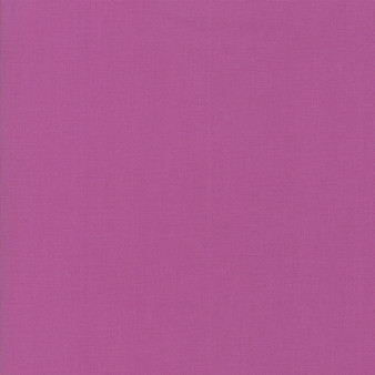 Violet from the Bella Solids collection by Moda Fabrics. 100% Medium Weight Quilting Cotton.