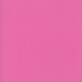 Petal Pink from the Bella Solids collection by Moda Fabrics. 100% Medium Weight Quilting Cotton.