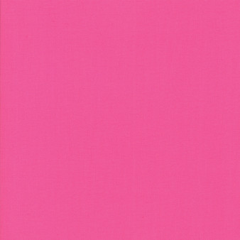 Fuchsia from the Bella Solids collection by Moda Fabrics. 100% Medium Weight Quilting Cotton.