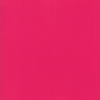 Shocking Pink from the Bella Solids collection by Moda Fabrics. 100% Medium Weight Quilting Cotton.