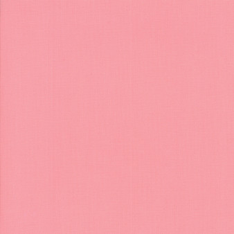 Betty's Pink from the Bella Solids collection by Moda Fabrics. 100% Medium Weight Quilting Cotton.