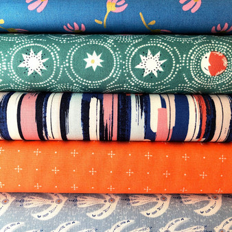 Celeste Fat Quarter Bundle - 5 Fabrics