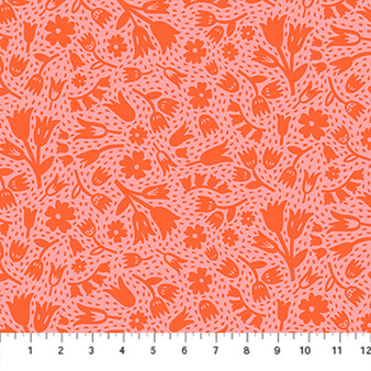 Floral Red 90300-26 from the Squeeze collection by Figo Fabrics. 100% Cotton Fabric