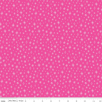 Sparkle Fuchsia from the GRL PWR collection by Riley Blake Designs. 100% Lightweight Cotton